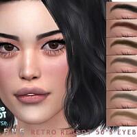 Retro 50's Eyebrows By Seleng
