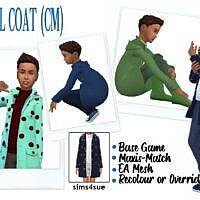 Bg Wool Coat (cm)
