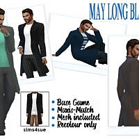 May's Long Blazer