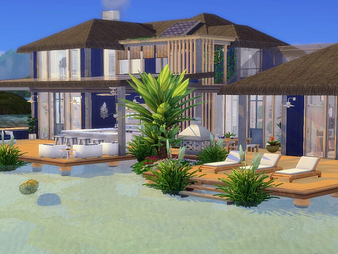 Sims 4 Coral Cove Home by LJaneP6 at TSR