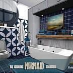 The Squealing Mermaid Boathouse Bathroom By Fredbrenny