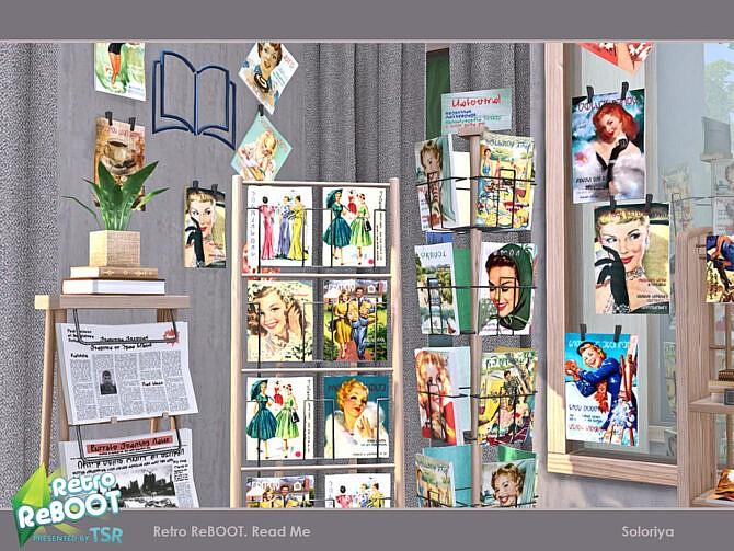 Sims 4 Retro ReBOOT Read Me set by soloriya at TSR