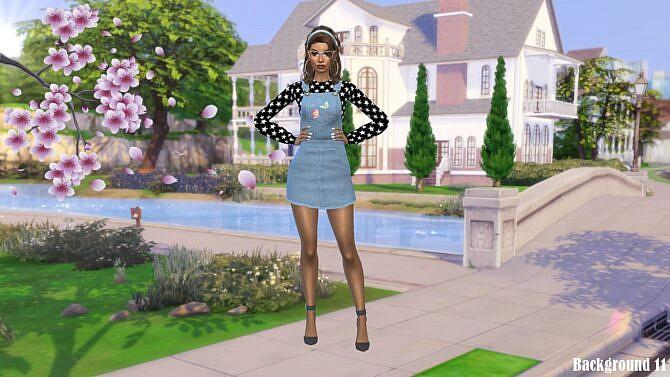 Sims 4 CAS Backgrounds Willow Creek 2021 Part 3 at Annett's Sims 4 Welt