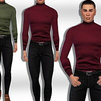 Men Fullbody Jeans Outfit By Saliwa