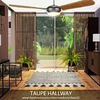 Taupe Hallway By Dasie2