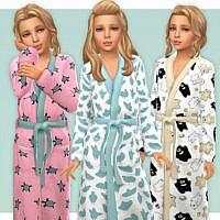 Cute Bathrobe For Girls By Lillka