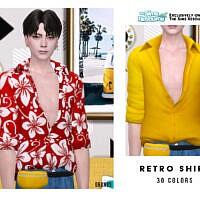 Retro Shirt By Oranostr