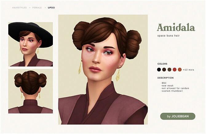Amidala Hair