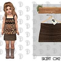 Skirt C342 By Turksimmer