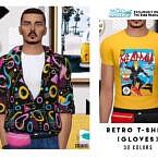 Retro T-shirt [accessory] By Oranostr