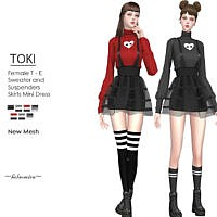Toki Mini Dress By Helsoseira