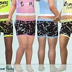 Activewear Panty By Pelineldis