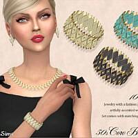 Retro Coro Lucite Bracelet 50s By Feyona