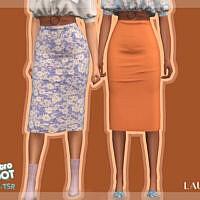 Retro Skirt R6 By Laupipi