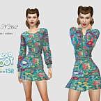 Retro Dress 262 By Pizazz