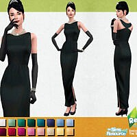 Retro Holly Dress Formal By Sifix