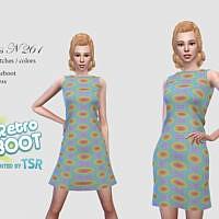 Retro Dress 261 By Pizazz