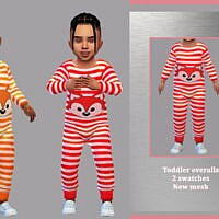 Toddler Overalls By Lyllyan