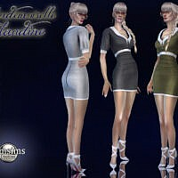 Mademoiselle Claudine Dress By Jomsims