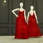 Shape With Bow Gown