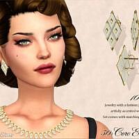 Retro Coro Lucite Earrings 50s By Feyona