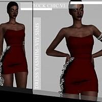 Rock Chic Vi Dress Yasmim By Viy Sims