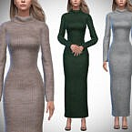 Aurora Sweater Dress By Pipco