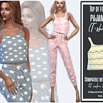 Top Female Pajamas By Sims House