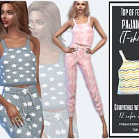 Top Female Pajamas By Sims House