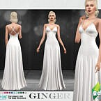 Retro Ginger Formal Dress By Sifix
