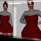 Rock Chic Vi Dress Marina By Viy Sims