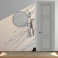 Vianela Wall Mirror With Hangers