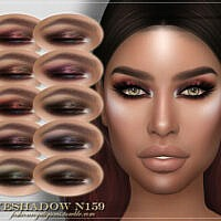 Frs Eyeshadow N159 By Fashionroyaltysims