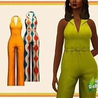Marigold Jumpsuit By Pixelette