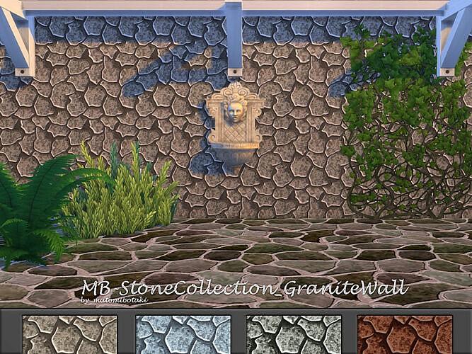 Mb Stone Collection Granite Wall By Matomibotaki