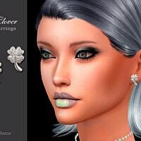 Clover Earrings By Suzue