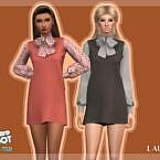 Retro Dress R3 By Laupipi