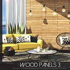 Wood Panels 3 By Rirann