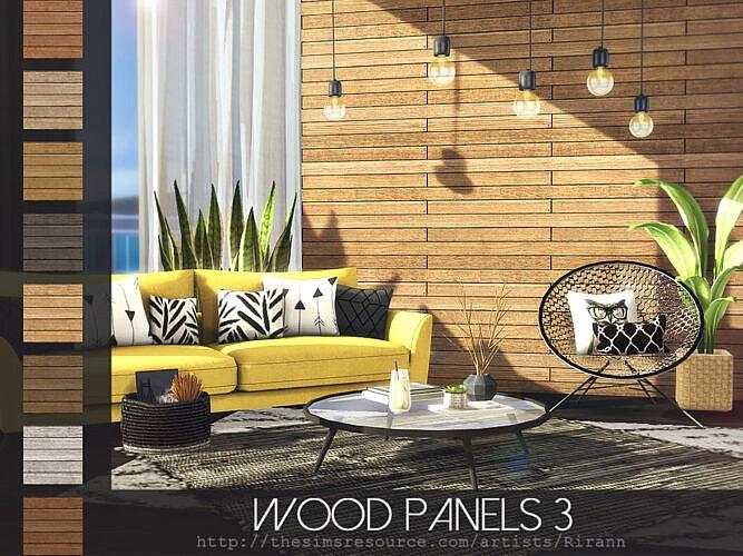 Wood Panels 3 By Rirann