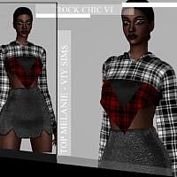 Rock Chic Vi Top Melanie By Viy Sims