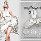 Marilyn Monroe Dress Bd443 By Busra-tr