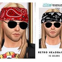 Retro Headband V2 By Oranostr