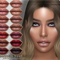 Frs Lipstick N243 By Fashionroyaltysims