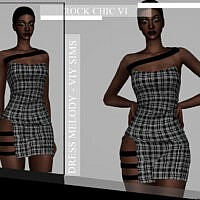 Rock Chic Vi Dress Melody By Viy Sims
