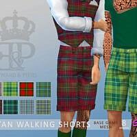 Edward & Piers Tartan Shorts By Simmiev