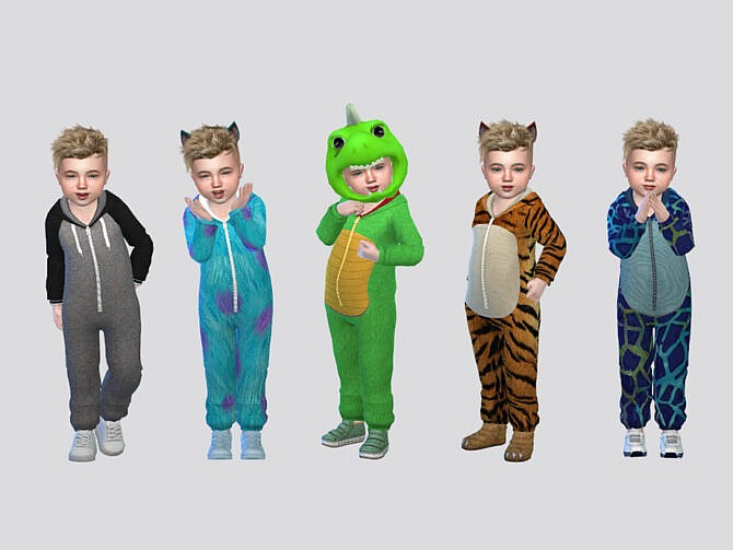 Sims 4 Trippy Onesie Toddler by McLayneSims at TSR