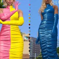 Olivia Dress By Plumbobs N Fries