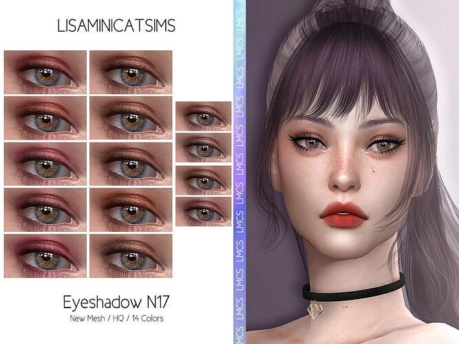Lmcs Eyeshadow N17 Hq By Lisaminicatsims