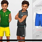 Sport Shorts 01 For Boys By Remaron