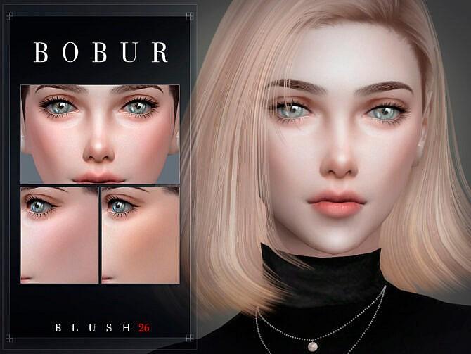 Sims 4 Blush 26 by Bobur3 at TSR
